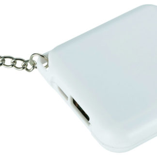 1800 mAh Emergency powerbank med nyckelring