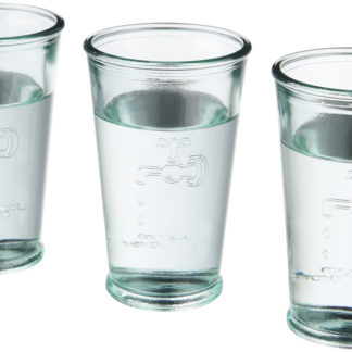 3 vattenglas