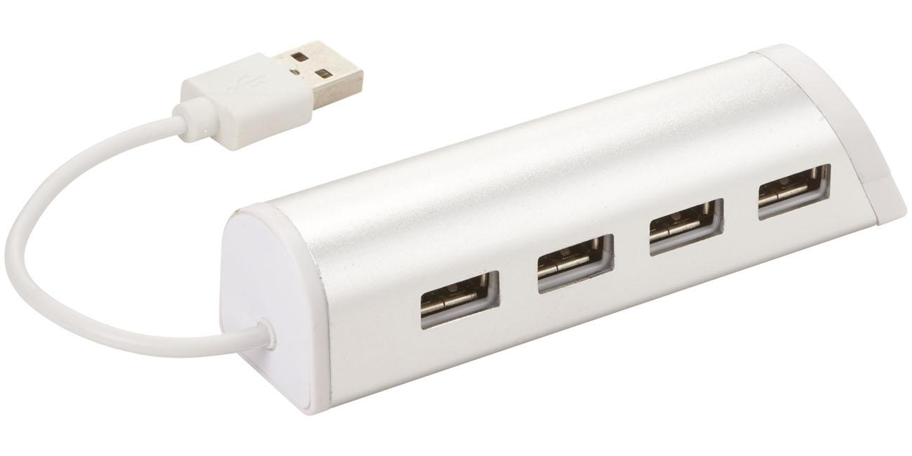 4 Ports USB laddare och telefonställ