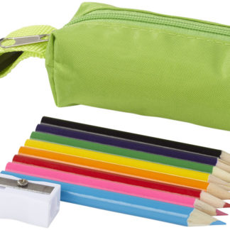 8-delars set med färgpennor