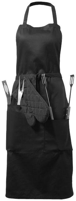 Bear grillförkläde med verktyg