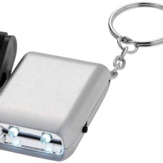 Carina nyckelring med dynamolampa