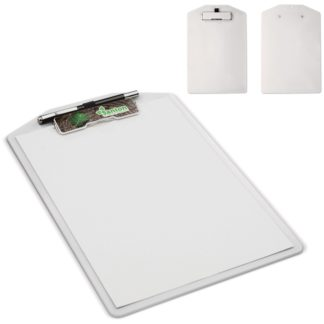 Clipboard With Logo Plate