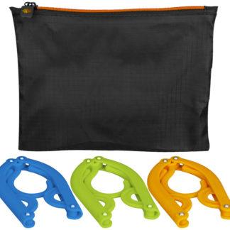 Dover 3-pack med hopfällbara hängare