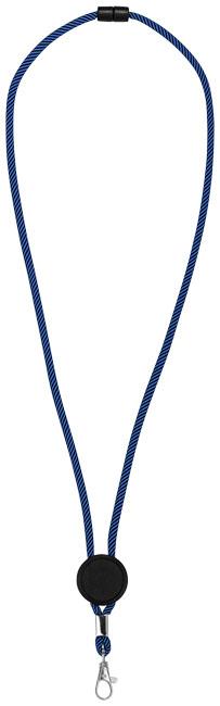 Hagen tvåfärgat logoband med justerbar platta