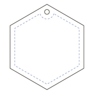 Hanger Hexagon 47x54 mm