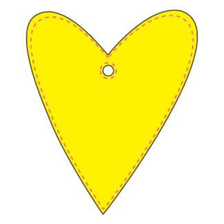 Hanger Hjärta #3 49x58 mm