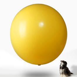 Jätteballong - Metallic 225 cm i omkrets