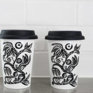 Keramikmugg Paradise 2-pack