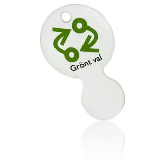 Kundvagnsmynt Enterprise 10 SEK Bioplast