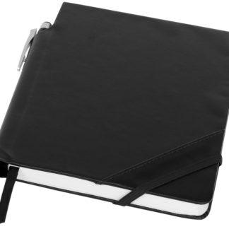 Patch-the-edge anteckningsbok med kulspetspenna