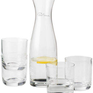 Prestige karaff med 4 glas