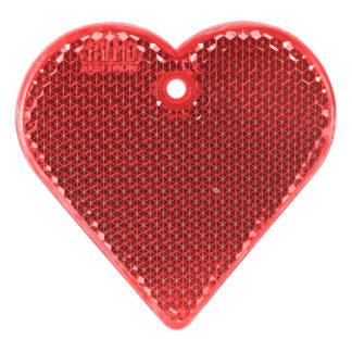 Reflexbricka Hjärta 57x57 mm
