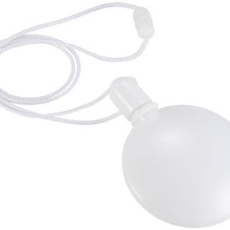 Rund behållare för såpbubblor