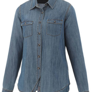 Sloan jeansskjorta långärm dam