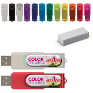 USB TWISTER MED DOMING 8GB
