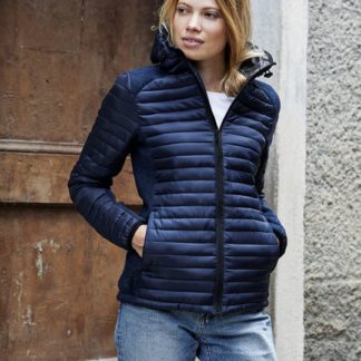 A_Jackor med tryck LADIES HOODED ASPEN CROSSOVER JACKET