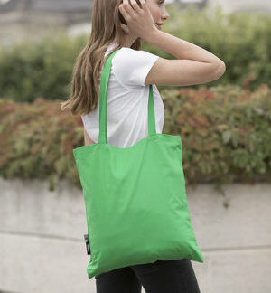 A_Kassar med tryck NEUTRAL SHOPPING BAG