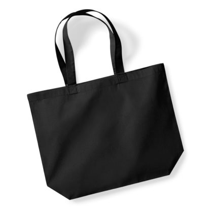 A_Kassar med tryck PREMIUM COTTON MAXI TOTE