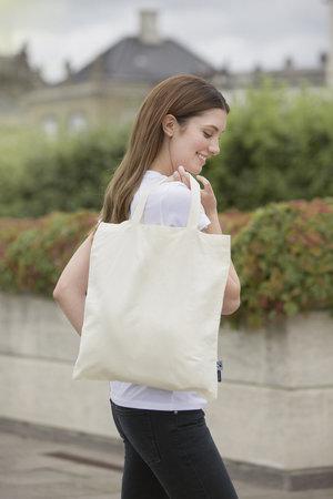 A_Kassar med tryck SHOPPING BAG SHORT HANDLES