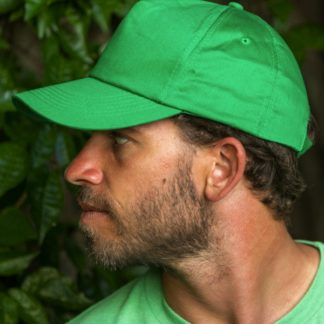 A_Kepsar med tryck BOSTON 5-PANEL PRINTERS CAP