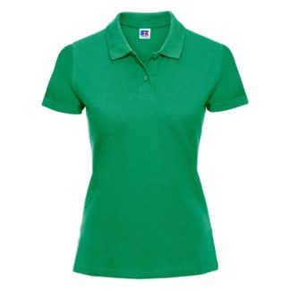 A_Piké med tryck LADIES' CLASSIC COTTON POLO