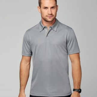 A_Piké med tryck MEN'S POLO SHIRT
