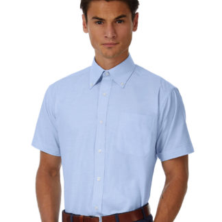 A_Skjortor med tryck OXFORD SSL/MEN SHIRT