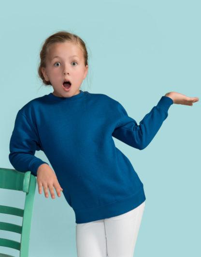 A_Sweatshirts med tryck KIDS' SWEATSHIRT