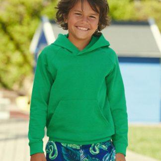 A_Sweatshirts med tryck LIGHTWEIGHT HOODED SWEAT KIDS