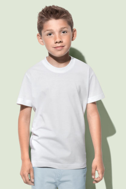 A_T-shirts med tryck JAMIE CREW NECK KIDS