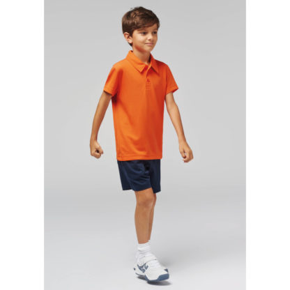 A_T-shirts med tryck KIDS' POLO SHIRT