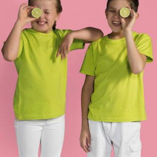 A_T-shirts med tryck KIDS' T-SHIRT