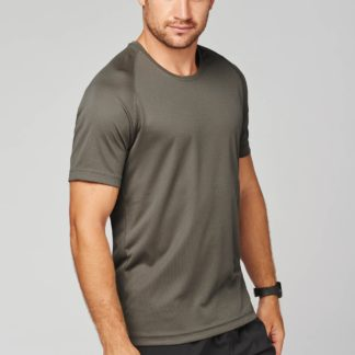 A_T-shirts med tryck MEN'S SHORT SLEEVE SPORTS T-SHIRT
