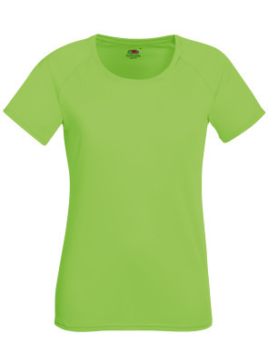 A_T-shirts med tryck PERFORMANCE T LADY-FIT