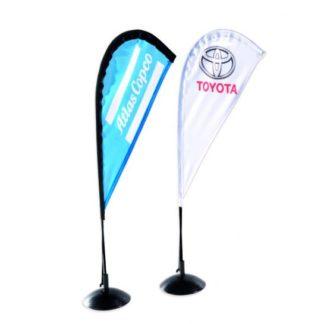 Beachflagga bord