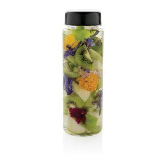 Flaska med fruktbehållare