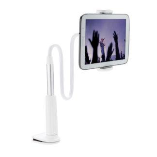 Flexibel hållare för mobiltelefon och surfplatta