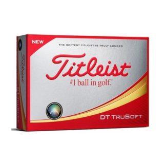Golfboll - Titleist DT Trusoft