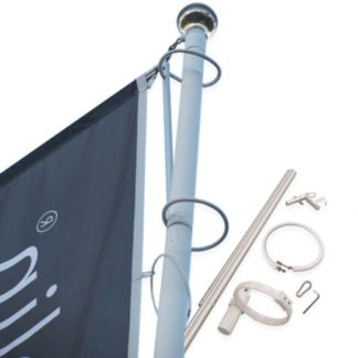 Hissbar flaggarm