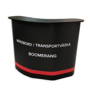 Mässbord Boomerang