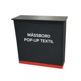 Mässbord pop-up