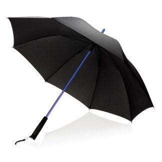 Paraply med upplyst LED-skaft