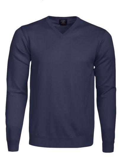 Stickade tröjor Everett V-neck