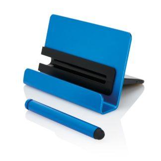 Telefonställ i aluminium med touchpenna