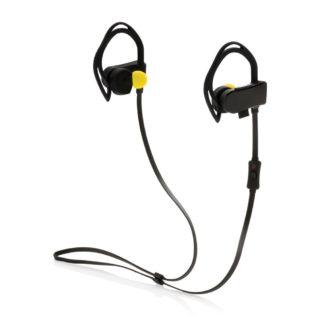 Trådlösa hörlurar med puls och stegräknare