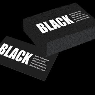 Tvättsvamp svart med tryck
