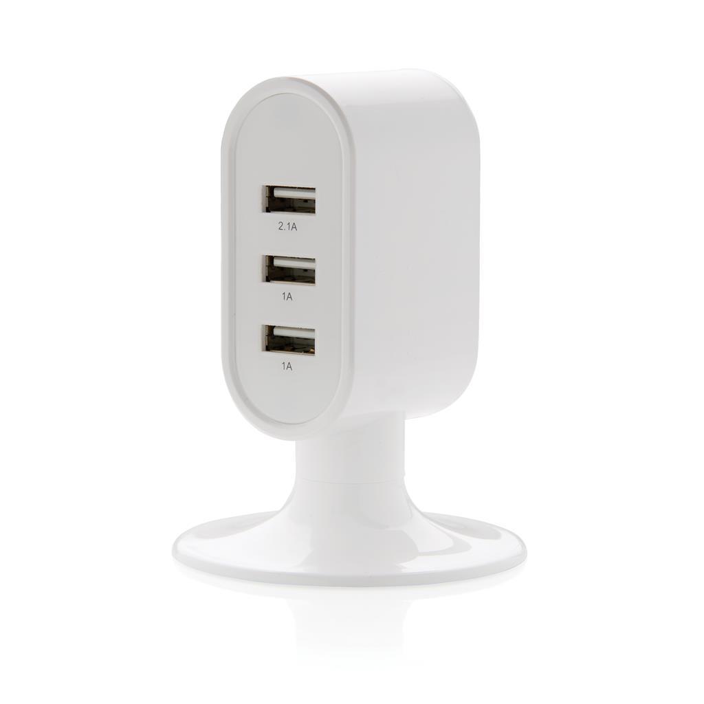 USB laddare med 3 portar