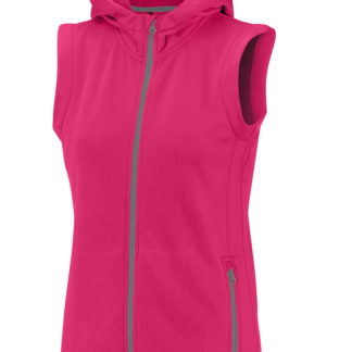Zamora hooded vest woman