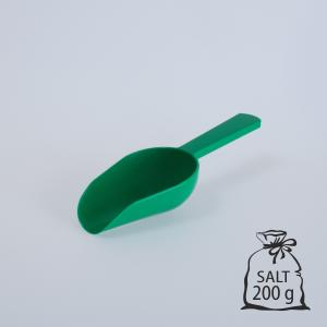 Skopa med logotryck avlång - 200G